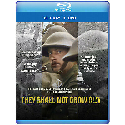 $35.16 • Buy They Shall Not Grow Old DVD & Blu-ray, Region 1 (US & Canada)