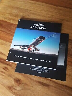 £26.99 • Buy BREITLING CHRONOLOG 09 Catalogue Book With Price List See Description