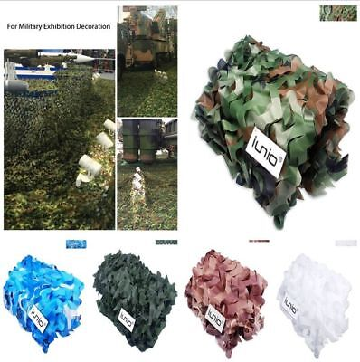 Camouflage Camo Net Netting Hide Hunting Military Army Woodland Camp Decoration • 6.99£