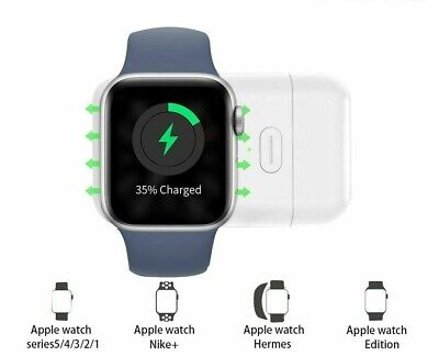 $ CDN18.93 • Buy Wireless Charger Portable Magnetic For Apple Watch Series 12345 Travel Outdoor