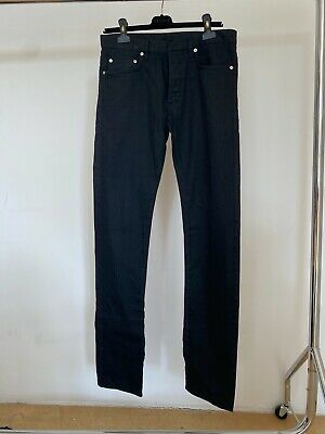 $64.29 • Buy Dior Homme Jeans Black - W31 - 17.5CM - Made In Japan - Rare