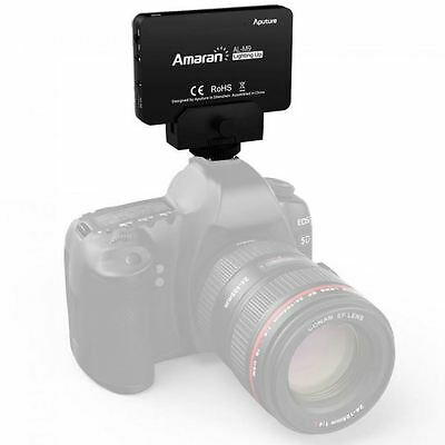 Aputure Amaran AL-M9 Mini LED Video Light Lamp For DSLR Camera DV Camcorder D7J2 • 30.76£