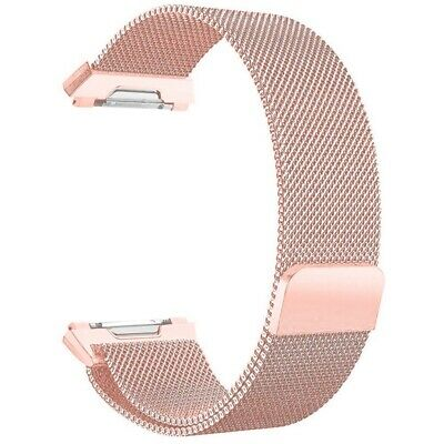$ CDN11.09 • Buy For Fitbit Ionic Bands Large Replacement Magnetic Loop Strap Stainless Ste W0R8
