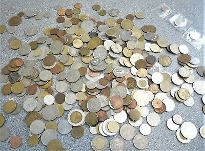 Vintage Foreign Coins. Assorted • 8.50£
