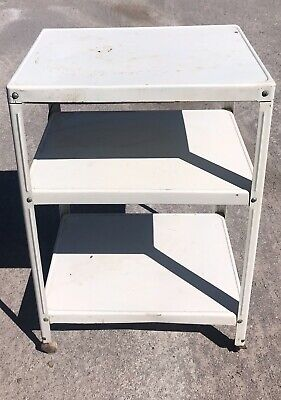 $69.99 • Buy Vintage White 3 Tiered Cosco Kitchen Cart, Powered