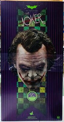 $752 • Buy Hot Toys Dark Knight THE JOKER 1/4th Scale Collectible QS010 Sealed
