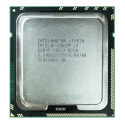 $ CDN85.88 • Buy Intel Core I7-970 CPU Quad-Core 3.2 GHz 12 MB LGA 1366 SLBEU Processor
