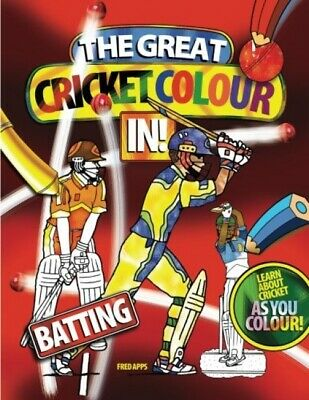 £5.96 • Buy The Great Cricket Colour In: Batting (cricket Colouring Books)