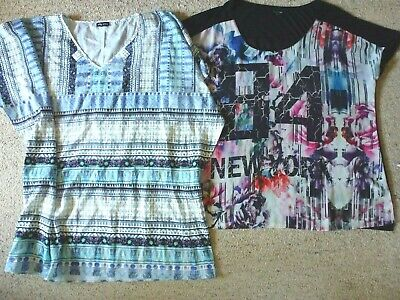 AU19.50 • Buy CITY CHIC Top + Tunic Top/kaftan..size 20..two Items