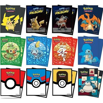 £6.99 • Buy Ultra Pro Pokemon Card Sleeves Holds 65 Cards! Standard Card Sleeves