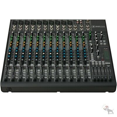 $625 • Buy Mackie 1642VLZ4 16-channel 4-Bus Compact Analog Low-Noise Mixer 10 ONYX Preamps