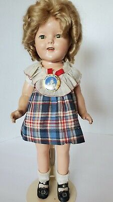 $70 • Buy Vintage Ideal Shirley Temple Doll 16  composition