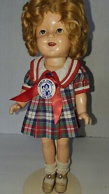 $40 • Buy Vintage Shirley Temple Ideal Composition Doll 13