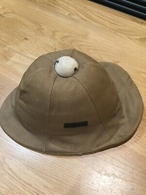 WW1 British Military  Helmet.    Made By Euro & Everett Ltd. 1904 • 132£