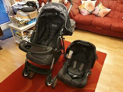 Graco Travel System Buggy With Car Seat • 5.20£