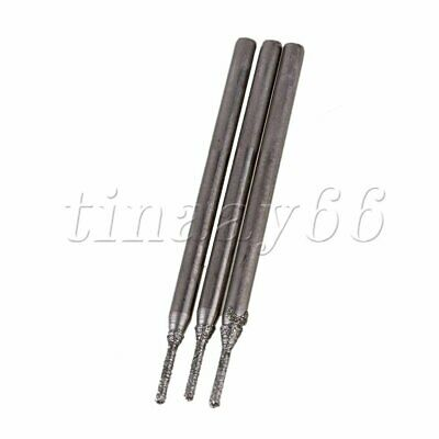 AU14.35 • Buy 20pcs 1mm Diamond Coated Hole Saw Drills 2.3MM Shank For Coolant Drill Add Water