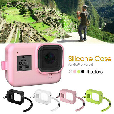 AU8.74 • Buy Silicone Camera Case Protective Skin Rubber Cover New For GoPro HERO 8