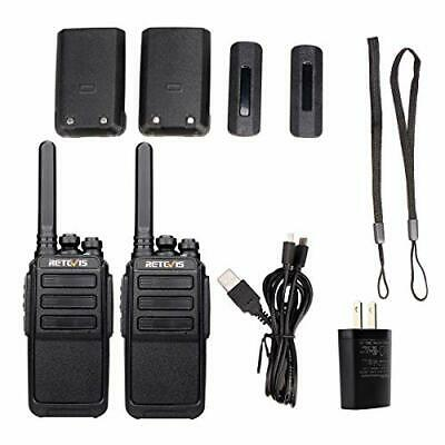 $ CDN50.03 • Buy Long Range Walkie Talkie 2 Set 16 Channels USB Charging 2 Way Radios For Adults