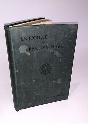 Vintage Welsh Language Book - Esboniad 1902 - Wales Collectable Ephemera Books • 5£