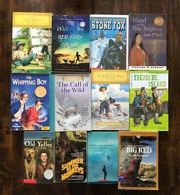 $15.99 • Buy Lot Of 12 Classic Adventure Chapter Books Children's Youth Readers Homeschool