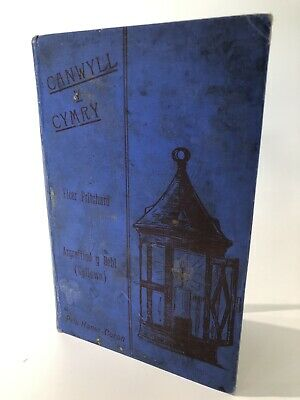 Vintage Welsh Language Book - Canwyll Y Cymry - Wales Collectable Ephemera Books • 5£