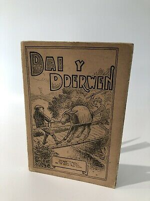 Vintage Welsh Language Book - Dai Y Dderwen - Wales Collectable Ephemera Books • 5£