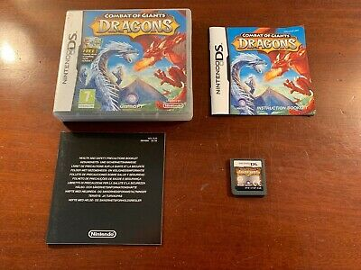 Ds Combat Of Giants Dragons   Tested Working Perfectly Uk Version  • 3.99£