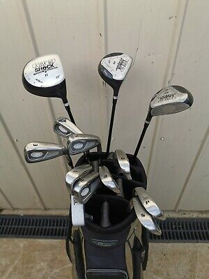 AU46 • Buy Golf Clubs, Power Shock  Proline Full Set With Bag