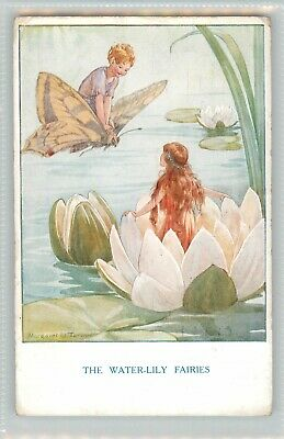 Margaret Tarrant The Water-lily Fairies - Medici Postcard  • 4.50£