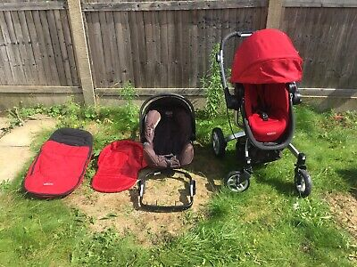 Graco Symbio Complete 3 In 1 Travel System • 35£