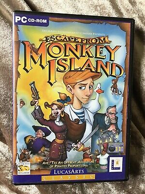 Escape From Monkey Island (PC, 2000) • 5£