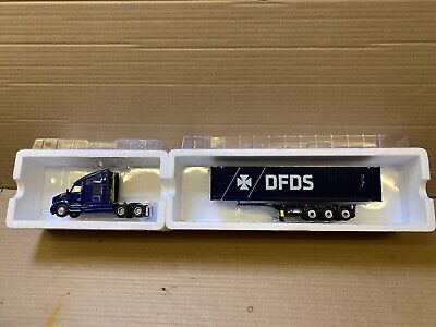 WSI Kenworth T680 & Container Trailer & Load - DFDS • 77£