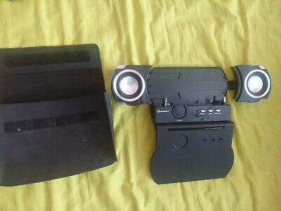 Gamexpert PSP Media Centre / Speakers With Travel Case - UNTESTED • 15£