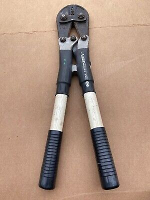 $225 • Buy Burndy MD6 Hand Operated Crimping Tool Free Shipping