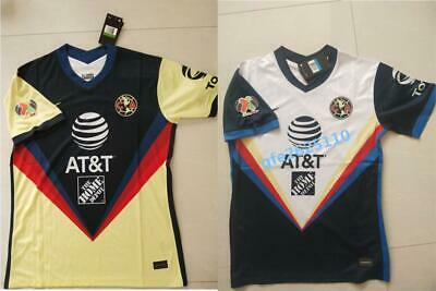 $19.99 • Buy 2020-2021 Club America Home/Away Soccer Jersey And The LIGA MX Patch