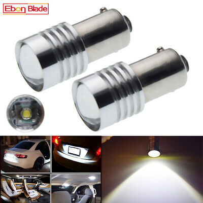 AU19.99 • Buy 2Pcs LED BAX9S H6W Cree 5W Car Interior Reverse Side Marker Light Globe Bulb 12V
