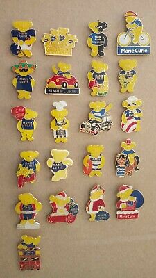 £1.50 • Buy Different Collection Of Marie Curie Cancer Charity Pin Badges