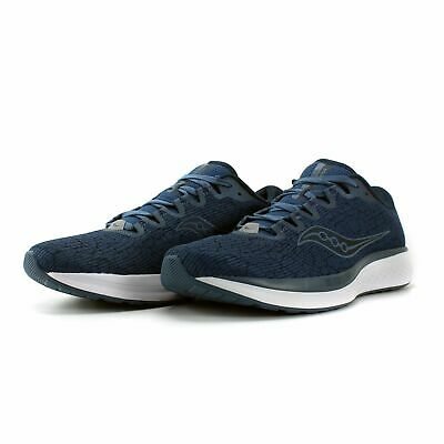 £45 • Buy Saucony Mens Jazz 21 Running Trainers Blue S20492-42 RRP £100 (A1)