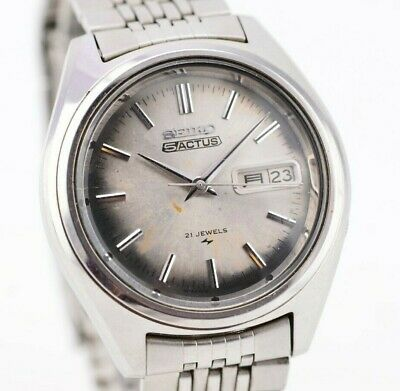 $ CDN118.91 • Buy K805 Vintage Seiko 5 Actus Automatic Watch Original JDM 7019-7060 Japan 1.3