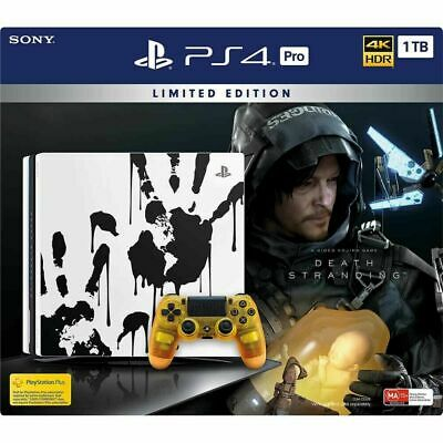AU799 • Buy Sony PlayStation 4 PS4 Pro 1TB Death Standing Limited Edition Console Bundle New