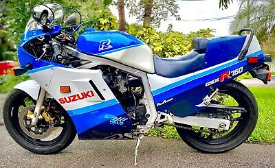 $5500 • Buy 1987 Suzuki GSX-R  1987 GSXR 750 GSXR 750 Slabside.  One Of The Finest Examples Probably Left .