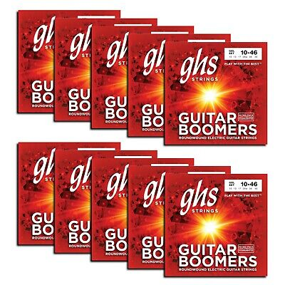 $ CDN57.35 • Buy GHS Strings GBL-10 SET Nickel Plated Electric Guitar String, Light 10-46