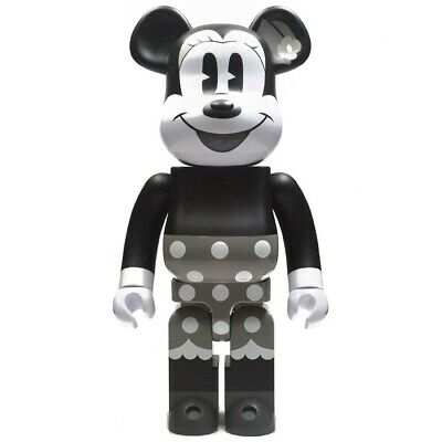 $750 • Buy Medicom BE@RBRICK Disney Minnie Mouse Black And White Ver 1000% Bearbrick Figure