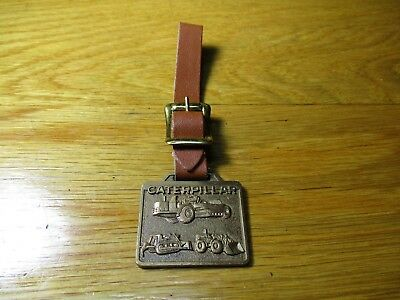 $12 • Buy Vintage Caterpillar Tractor Watch Fob, Cleveland Brothers Equipment