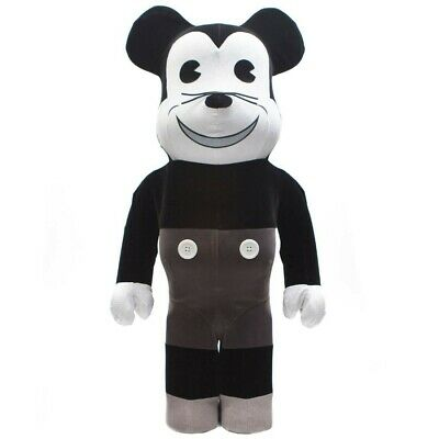 $650 • Buy Medicom BE@RBRICK Mickey Mouse Vintage Ver. Black & White 1000% Bearbrick Figure