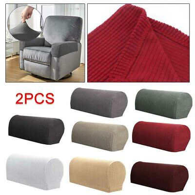 £4.99 • Buy  Removable Arm Stretch Sofa Couch Chair Protector Armchair Covers Armrest 1Pair
