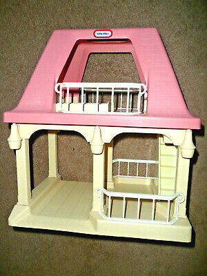 $25.99 • Buy Little Tikes Grandma's Cottage/House With Pink Roof! 1992! Dollhouse Only!