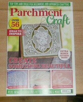 Parchment Craft Magazine Jul/Aug 2020 56 Ideas To Inspire. Bookmarks Cards &more • 9.99£