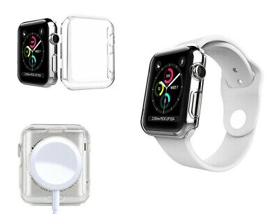 $ CDN6.04 • Buy IWatch Screen Protector Case Cover Apple Watch Series 1/2/3/4&5 Fits All Models