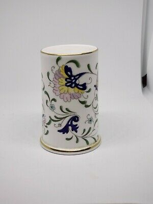 $5.60 • Buy Coalport Bone China  Archive Small Spill Vase Pageant Pattern